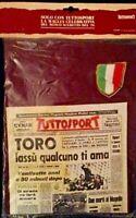 T-SHIRT MAGLIETTA TORINO SCUDETTO 1976 TUTTOSPORT MISURA UNICA NUOVA SIGILLATA
