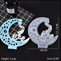 Ramadan kareem Decor Silicone Resin Casting Mold Jewelry Epoxy Mould Craft