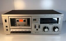 VINTAGE SANYO STEREO CASSETTE DECK Model RD5008 FOR PARTS or REPAIR