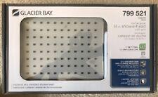 "GLACIER BAY 8"" RECTANGULAR MODERN STAINLESS CHROME 1-SPRAY BATHROOM SHOWER HEAD"