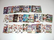 LOT OF 32 VINCENT BRISBY CARDS
