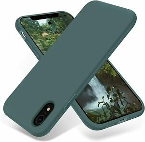 Shockproof Liquid Silicone Thin Cover Soft Slim Case for iPhone X/XS XS MAX XR