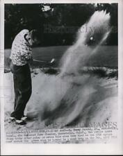1951 Press Photo Tommy Jacobs Jr in National Public Links Golf at Bethlehem Pa