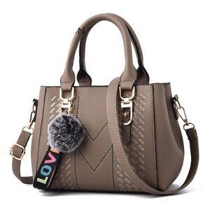 Women Handbags Designer PU Leather Shoulder Bag Messenger Crossbody Tote Bag