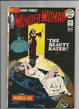 WONDER WOMAN #200  VF-   VERY FINE -  WHITE PAGES DC BRONZE AGE COMIC 1972