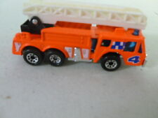 Matchbox Fire Truck F Orange Mb18 with box