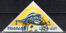 Shajah Railroad modern Diesel Train stamp 1965