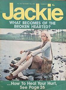jackie magazine No.515 November 17th 1973,Simon Turner,Noel Edmond,sweet...