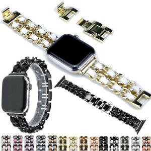 For Apple Watch Series 5 4 3 38/40MM Stainless Steel Bracelet iWatch Band Strap