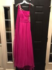 Magenta Dave and Johnny prom dress WORN ONCE