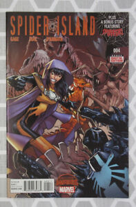 Spider Island Comic 4 Cover A First Print 2015 Scott Gage Paco Diaz Marvel