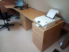 home office furniture, 2 desks, 2 cabinets