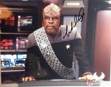 STAR TREK Nemesis Autograph Michael Dorn/Worf Signed 8x10 Photo (LHAU-045)