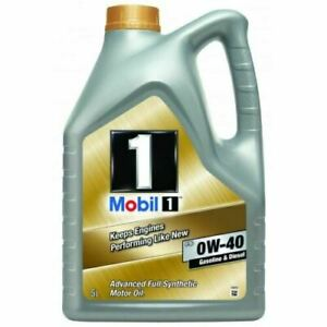 Mobil 1 FS 0W40 (153669) Fully Synthetic Engine Oil 5 Litres 5L