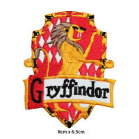 Harry Potter Gryffindor House Embroidered Patch Iron on Sew On Badge
