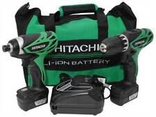 Outils électriques professionnels visseuses Hitachi pour PME, artisan et agriculteur