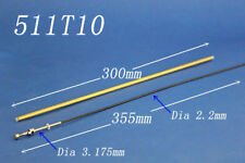 "2.2mm X 14"" 355mm cable shaft drive dog prop nut for rc boat 511T10"