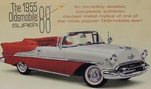 1955 OLDSMOBILE SUPER 88 CONVERTIBLE A BONAFIDE COLLECTOR CLASSIC Danbury Mint!