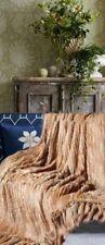 Brand New Knitted Mink Fur Blanket Rug Throw Bedspread