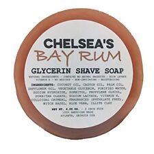 Chelsea's Bay Rum Shaving Shaving Soap
