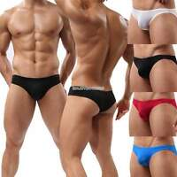 Comfy Sexy Cotton Underwear Mens Boxer Briefs Shorts Bulge Pouch soft Underpants