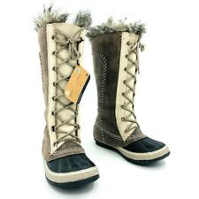 Sorel Cate of Great Brown Winter Snow Boots Womens Size 7