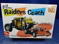 Barris Raiders Coach  AMT/ERTL 1/25 Kit- Sealed Bags Bonus Decals 2000 Issue MPC