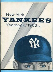 1963 New York Yankees Yearbook Jay Publishing Vg/Ex