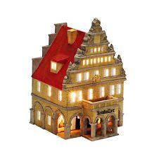 porcelana Casa de velas lichterhaus Portavelas RATSKELLER 24cm 40533