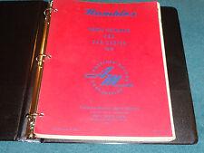 1955 RAMBLER PARTS CATALOG / ORIGINAL AMC PARTS BOOK