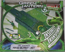 GREEN LANTERN Ring Blast Jet & action figure Lights & Sound DC Universe Mattel