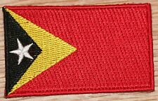 EAST TIMOR Country Flag Embroidered PATCH Badge
