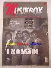 rivista MUSIKBOX 6/1997 Nomadi Ivan Graziani Gian Pieretti Kinks Strawbs  No cd