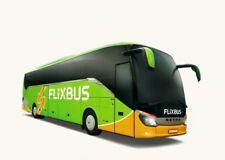 FLIXBUS GUTSCHEIN 4x5€ Buchungszeitr. bis 30.4.19 Reisezeitraum 2.1.19 - 30.4.19