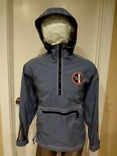 Tommy Hilfiger  man 1/2 zipped jacket/sweater  large 6/6 light blue vintage