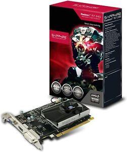 Grafikkarte 4GB Sapphire AMD Radeon R7 240 128bit VGA HDMI DVI PCI-e 3.0 NEU
