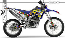 YAMAHA WR250R WR250X ALL YEARS MAXCROSS GRAPHICS KIT DECALS STICKERS FULL KIT18
