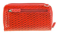 WalletBe Women's Designer Leather Slim Crossbody RFID Smartphone Wallet Purse