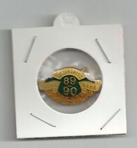 1989-1990 Tattersalls Racing club  badge with pin clip on back no 1328 Excellent