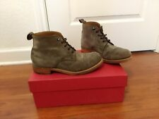 grenson ryan boots US size 8,UK size 7 Color brown/grey had it for only 2 months