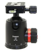 Demon DB-46 46mm Ball Head Arca / RRS Compatible w  Pan Lock for Tripod Desmond
