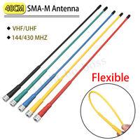 🔥SMA-M Male Flexible Antenna VHF/UHF For Garmin Alpha 100 For Astro 220 320 430