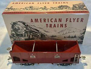 MTH 11-30090 Lionel Corporation Tinplate Std Gauge American Flyer Hopper Car NEW