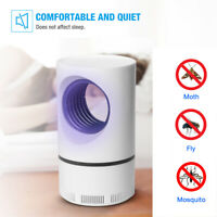 USB Mosquito Insect Killer Zapper LED Light Fly Bug Trap Pest Control Lamp