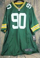 e3c2fa44 Nike On Field Adult L Green Bay Packers Jersey Custom Football ...