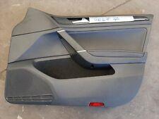 VW Golf 7 VII Kombi Türverkleidung Türpappe Schwarzes Leder Vorne Rechts