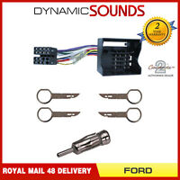 CD ISO Wiring Kit for Ford Connect, Fusion, Mondeo, Transit