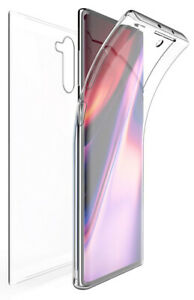 Tri-Max Clear Screen Guard Full Body Wrap Case Cover for Samsung Galaxy Note 10