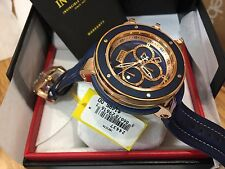 24437 Invicta Reserve Subaqua Sea Dragon Chrongraph Maple Wood Inlay Strap Watch