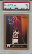 1990 Skybox MICHAEL JORDAN # 41 PSA 7 NM Chicago Bulls HOF